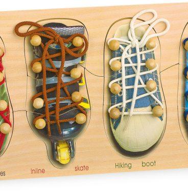 Žaidimas Susirišk batus