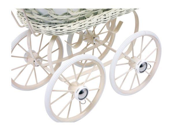 Vintažinis lėlių vežimėlis