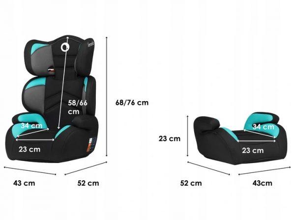 automobilio kėdutė 15 - 36 kg