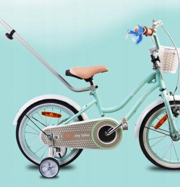 dviratis mergaitei 3 - 5 metų