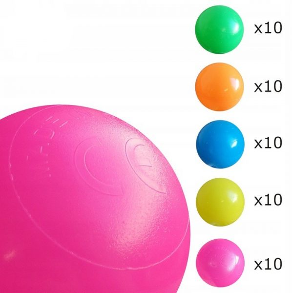 Palapinė su kamuoliukų baseinu
