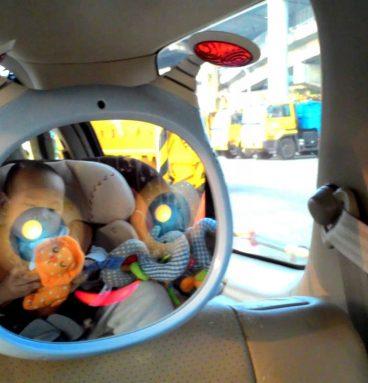 veidrodis automobiliams su nuotolinio valdymo pultu