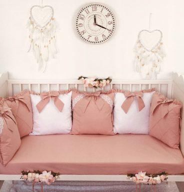 Apsauginis pagalvių rinkinys lovytei