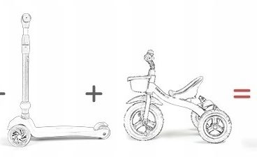 dviratis paspirtukas