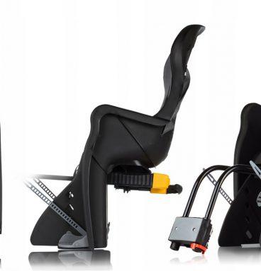 reguliuojama dviračio kėdutė