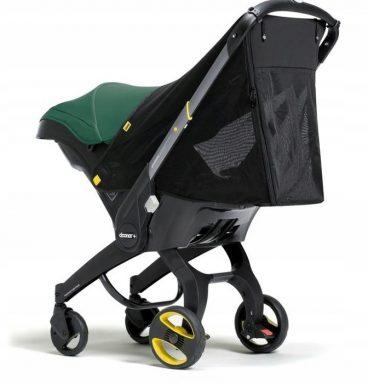 skydelis nuo saulės ir tinklelis nuo uodų doona vežimėliui