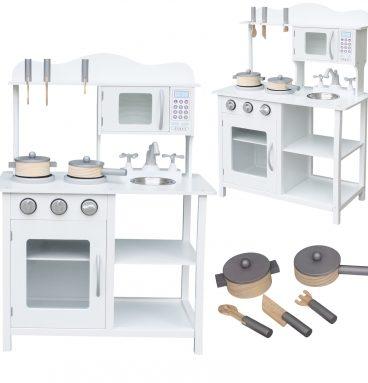 Medinė MDF virtuvė su priedais