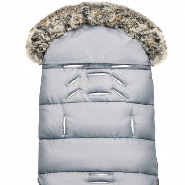 šiltas miegmaišis su kailiu